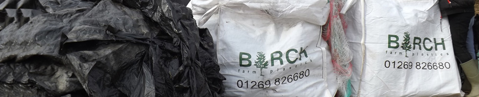 farm waste polythene