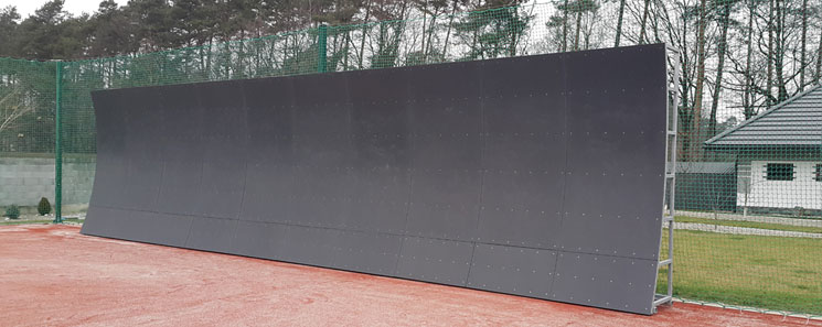 Tennis wall application